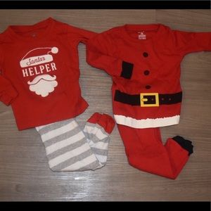 Set of 2 toddler Christmas pajamas